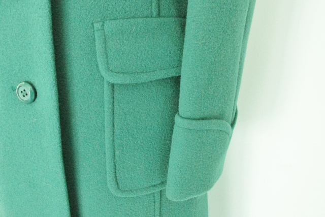 Splendid-Vintage-green-wool-vintage-coat-60s-mod-MS-St-Michael-1