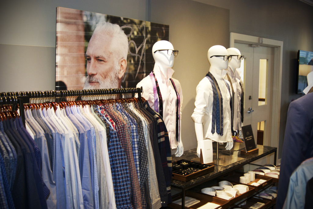 A vast array of options for suiting, shirting, and accessories at Indochino