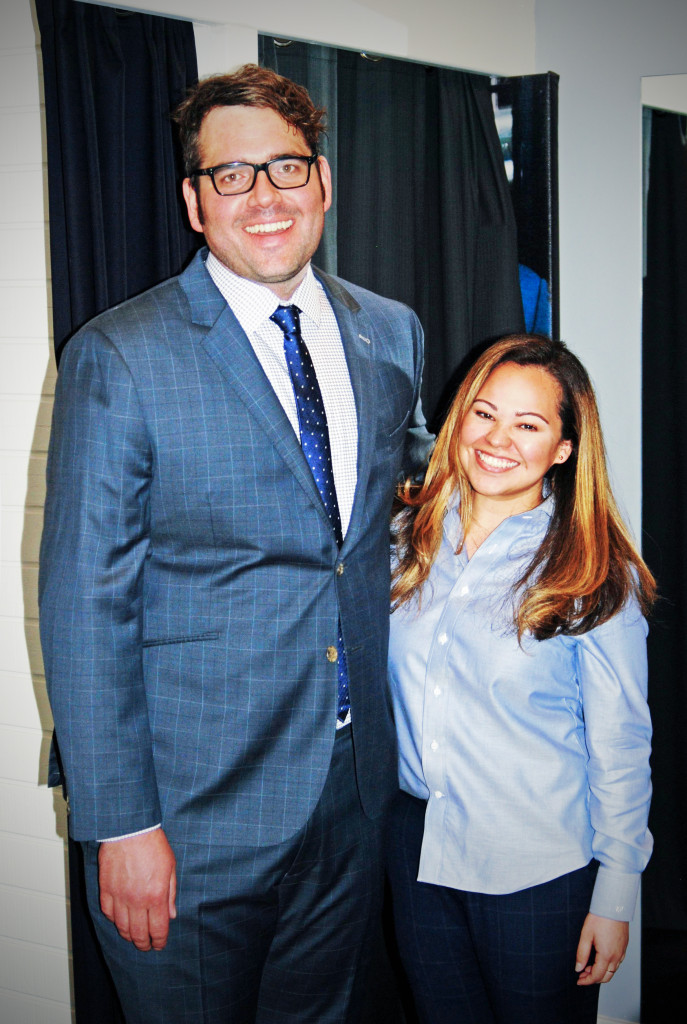 The expert guide to all things menswear: Victoria Perez, at Indochino Boston